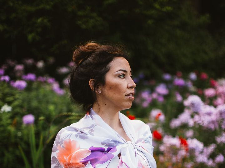 Tmx 1432274482451 Photoshoot   Garden July2014   Fabiola Stole Wrap  Seattle wedding dress