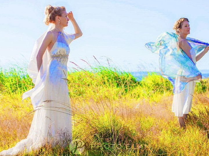 Tmx 1432345472545 Photoshoot   Beach  Leonard Gisele Epr Cropped   P Seattle wedding dress