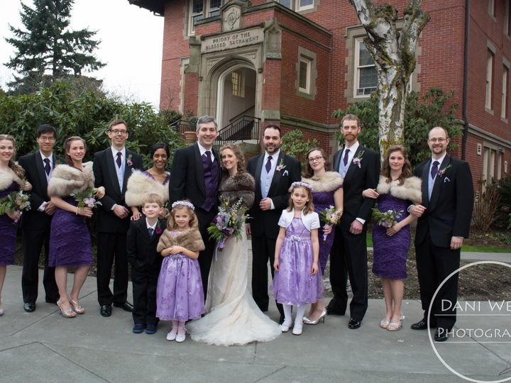 Tmx 1432541051476 Amys Wedding Party 1 Cropped Seattle wedding dress