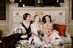 White Stole ~ Silk Wedding Wraps, Bridal Stoles, Silk Bridal Wraps, Couture Wedding Accessories image