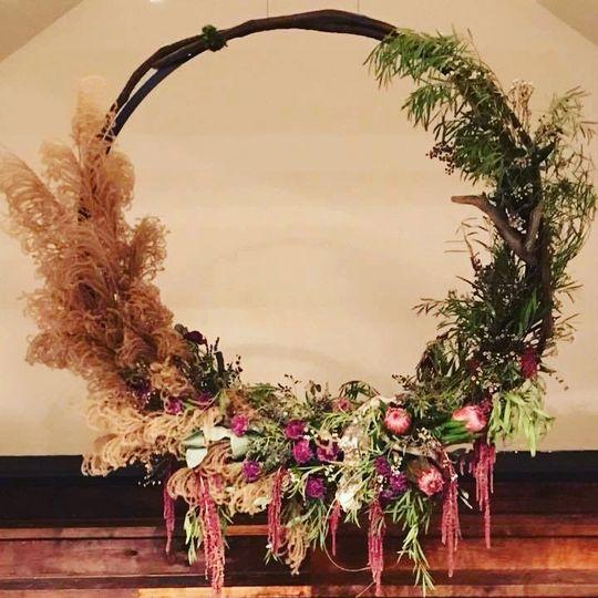 Floral installation Mya Frey