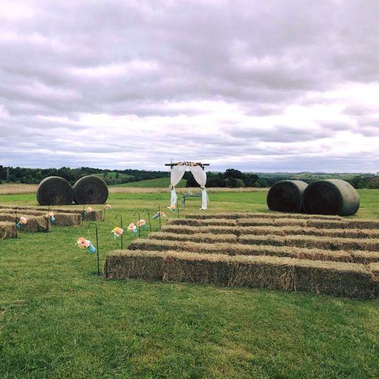 Z Barn Outdoor Ceremony