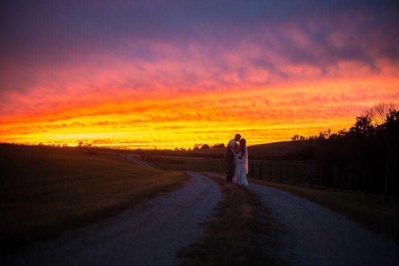 Z Barn Sunset Couple