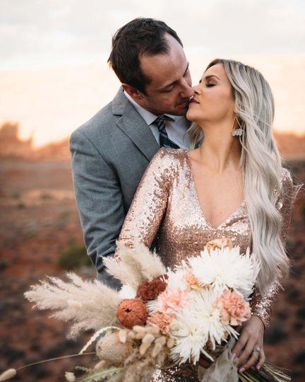 Ashlee + Tim desert elopement