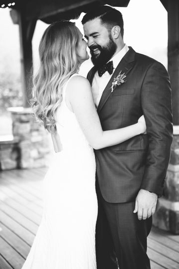 Emily + Elie mountain wedding