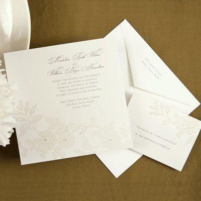 Invitation with envelope