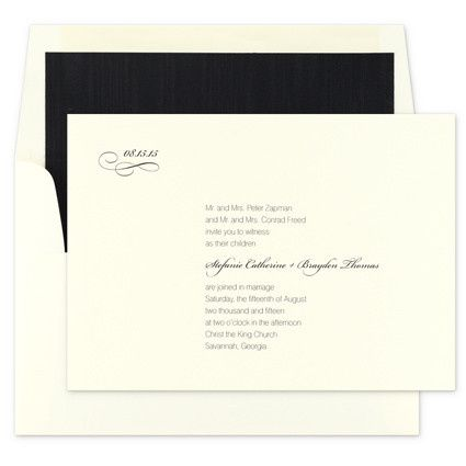 Tmx 1381181225710 Pba Evr S Manhasset, New York wedding invitation