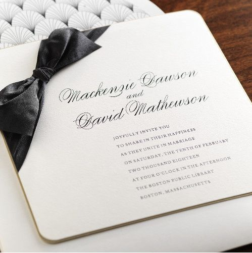 Tmx 1381182656865 Fine Romance 2 Manhasset, New York wedding invitation