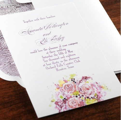 Tmx 1381183097239 Fine Romance 9 Manhasset, New York wedding invitation