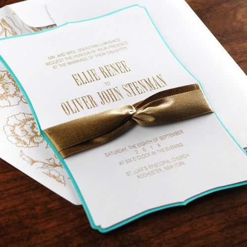 Tmx 1381183099380 Fine Romance 10 Manhasset, New York wedding invitation