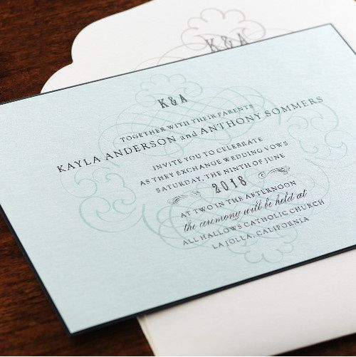 Tmx 1381183101905 Fine Romance 11 Manhasset, New York wedding invitation