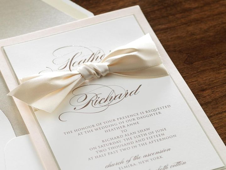 Tmx 1426698494508 Image13 Manhasset, New York wedding invitation