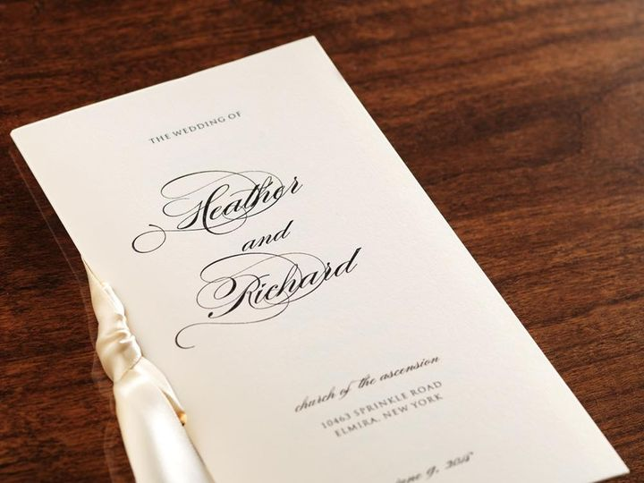 Tmx 1426699890495 Program Manhasset, New York wedding invitation