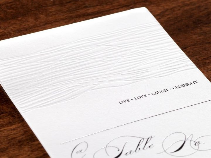 Tmx 1426699966878 Table Manhasset, New York wedding invitation