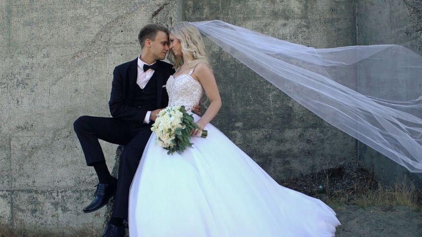 Artem and Christina. After reception.