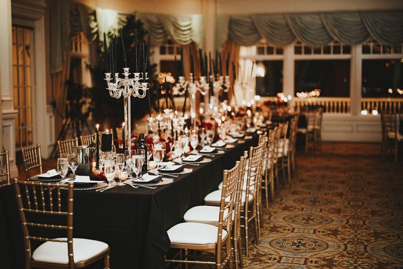 Eagle Oaks - Wedding Setup
