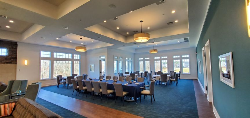 Right side of the ballroom