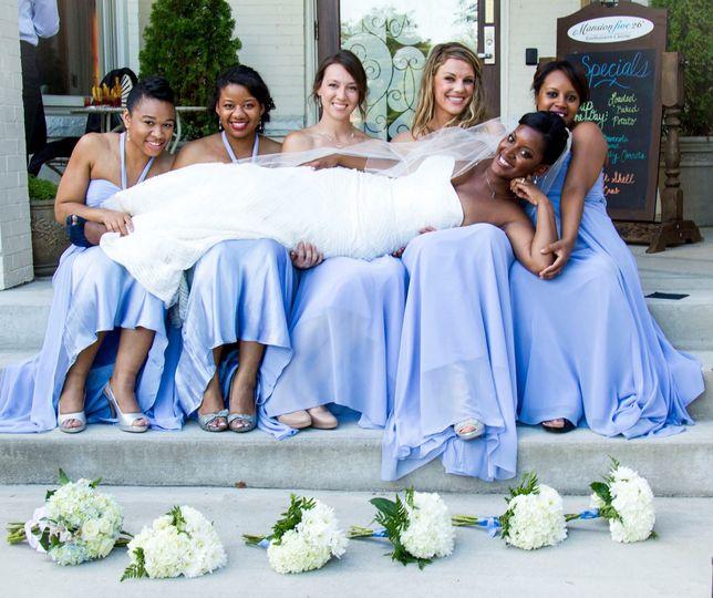 Fun wedding in richmond