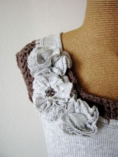 Handmade blouses for your bridal party.