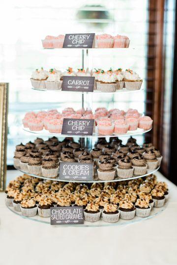 Mini Bite Size Cupcakes