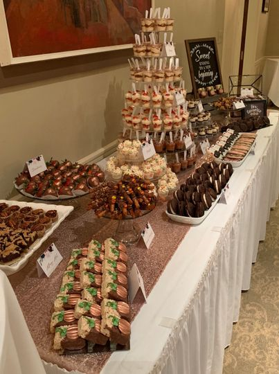 Ann Arbor Dessert Table