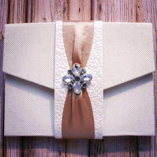 Fabric Invitation