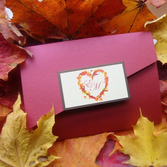 Autumn Leaves Pocketfold