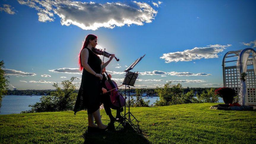 Violin/cello duo