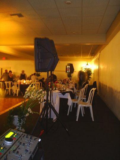 Wedding Reception at Hodel's in Bakersfield.