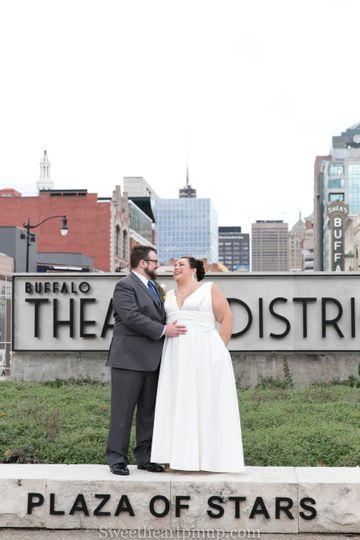 Buffalo wedding