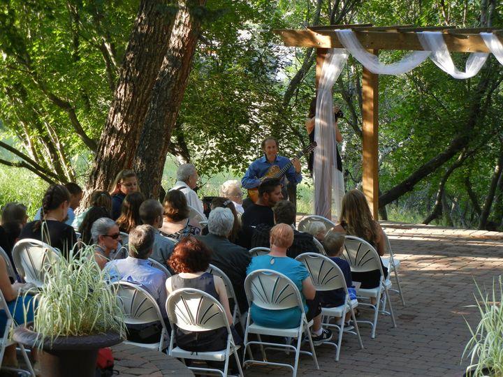Steve Shurack at a wedding