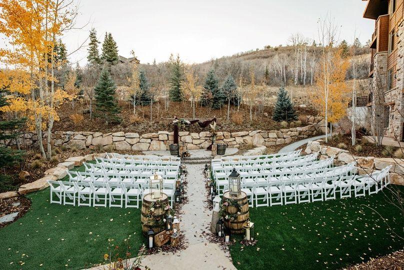 Fall Garden Ceremony