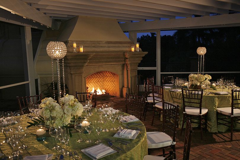 Hammock Bay Clubhouse Terrace Reception