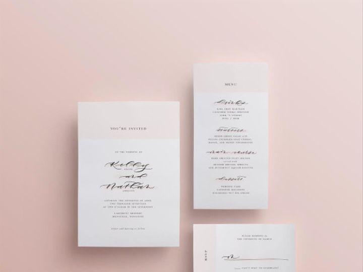 Tmx 1494273251204 Screen Shot 2017 05 08 At 2.53.53 Pm Sun Prairie wedding invitation