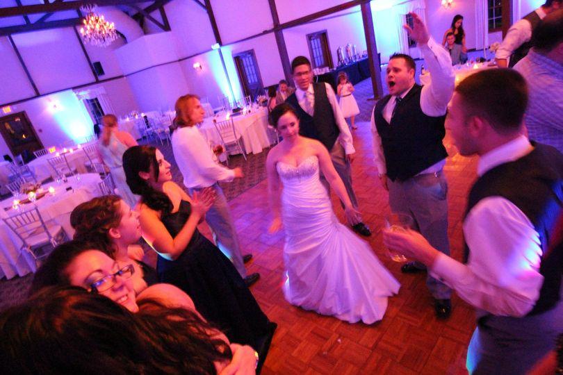 Farmington Gardens Wedding with Uplighting