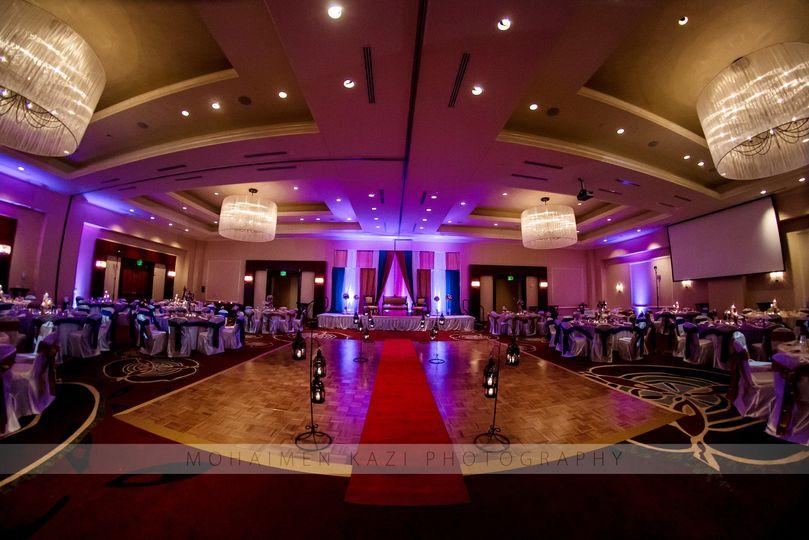 The fancy reception