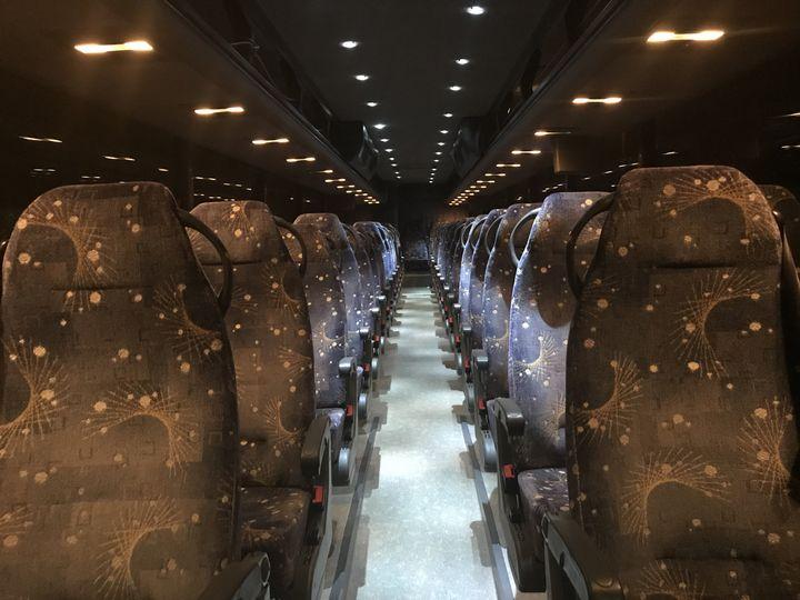 61 pass passenger interior