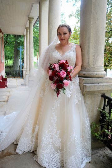 Bride at The Number One House