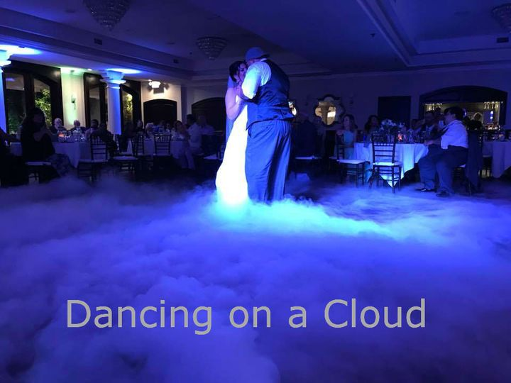 Dancing on a cloud
