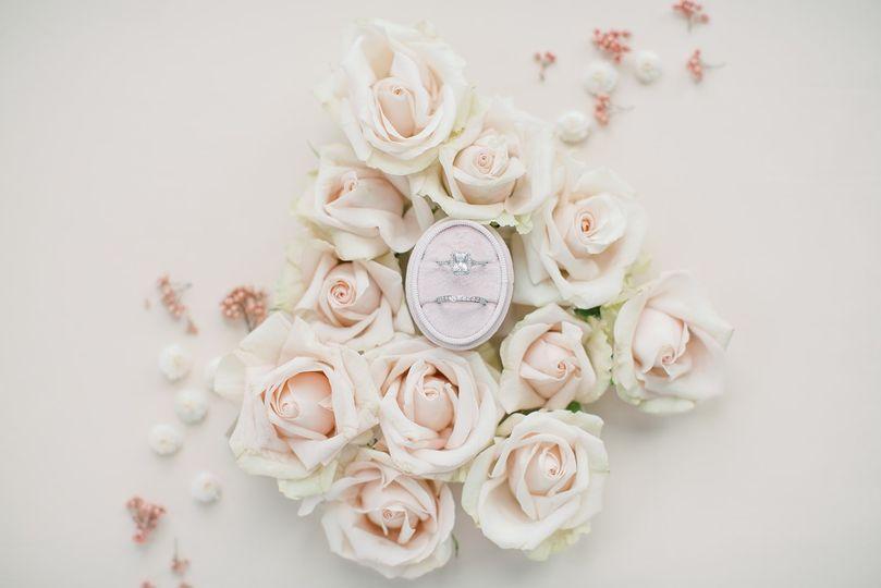 A bridal bouquet - Allie & John Photography