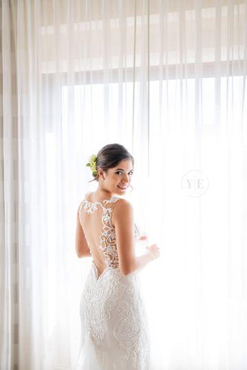 A glowing bride