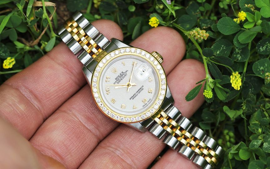 Pre-owned lady rolex datejust