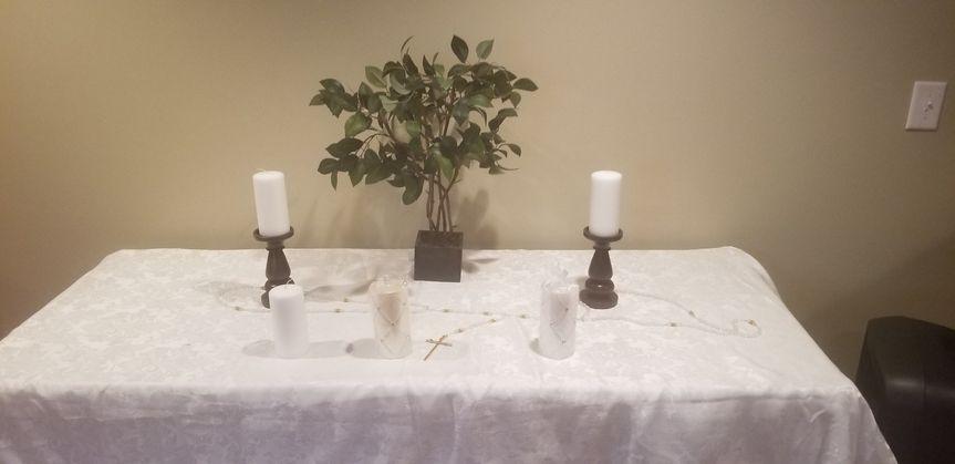 Customized Pagan Altar