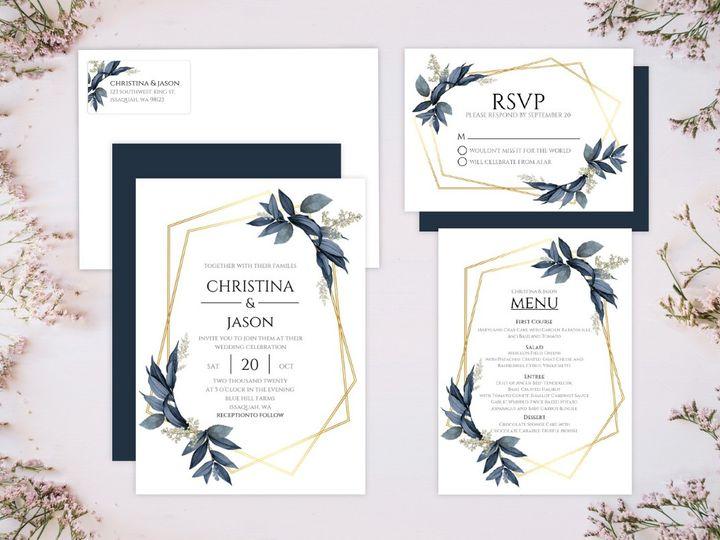 Tmx 10 51 498943 157861314858013 Issaquah, WA wedding invitation