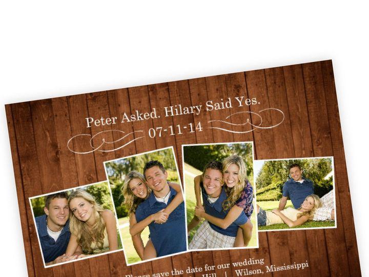 Tmx 1362012793117 WeddingWireSavetheDatewoodenpictureperfectlove Issaquah wedding invitation