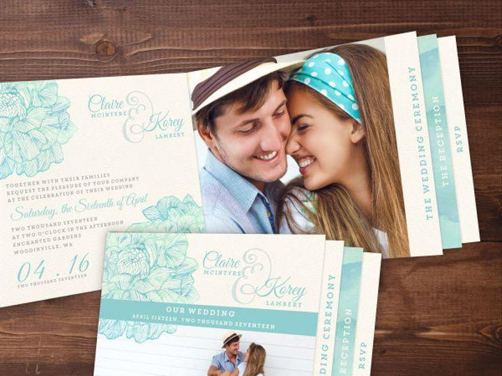 Tmx 1424471982656 Weddinginvites6 Issaquah wedding invitation