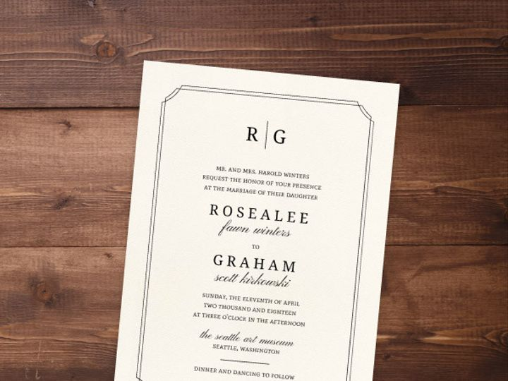 Tmx 1424471999262 Weddinginvites11 Issaquah wedding invitation