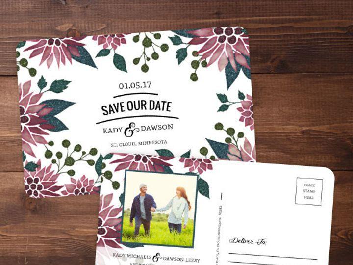 Tmx 1424820375499 Savethedates4 Issaquah wedding invitation
