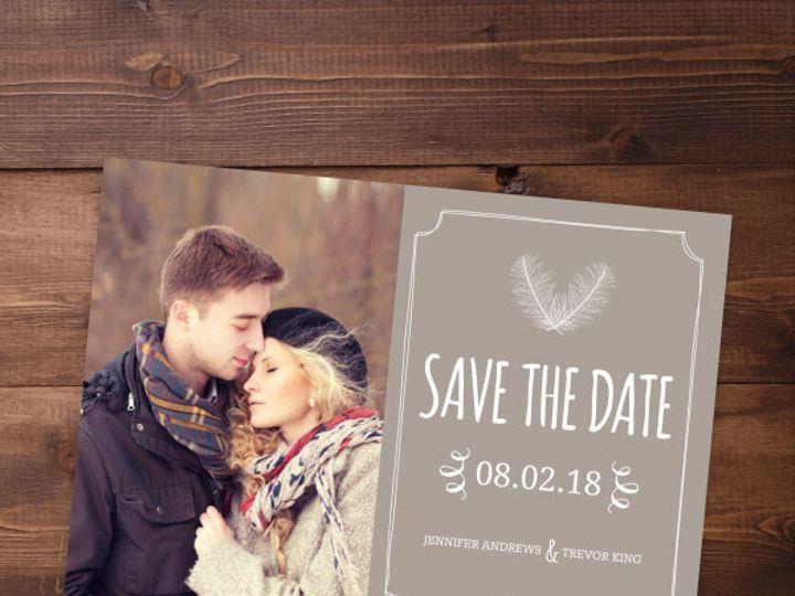 Tmx 1424820380703 Savethedates6 Issaquah wedding invitation