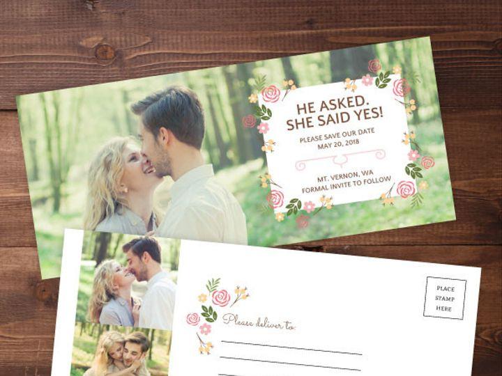 Tmx 1424820397262 Savethedates11 Issaquah wedding invitation
